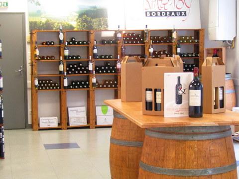Salle de réception Maison des Vins Ste Foy Côtes de Bordeaux