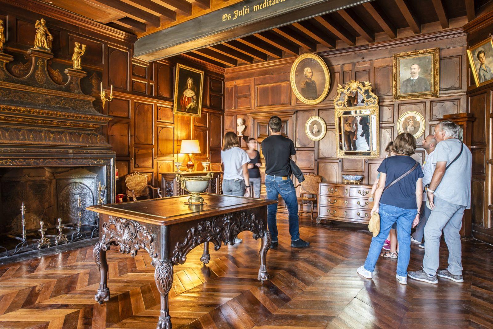Salon de compagnie®ANAKA-Château de La Brède