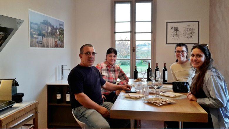 Sirtaqui – Vignobles Dorneau – dégustation truffes