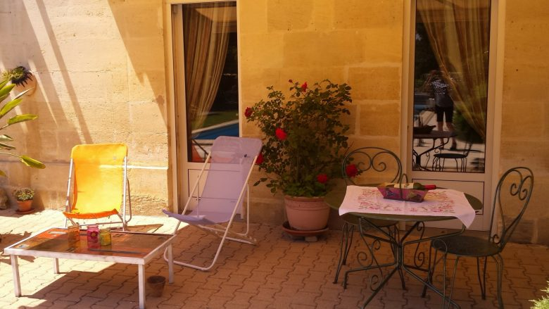 Sirtaqui – les charmes de Vincent – terrasse