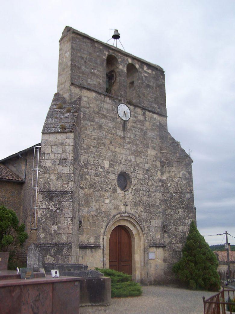 Soulignac Église Saint-Genès