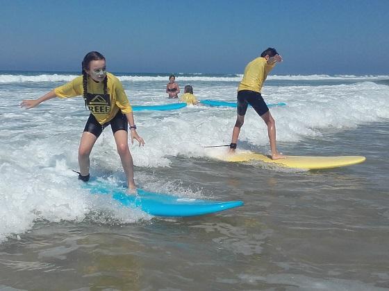 Surf -arès-bassin arcachon