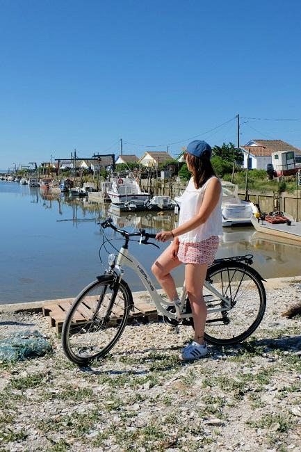 Vélo – port ostréicole – arès – bassin arcachon ©Tukibomp