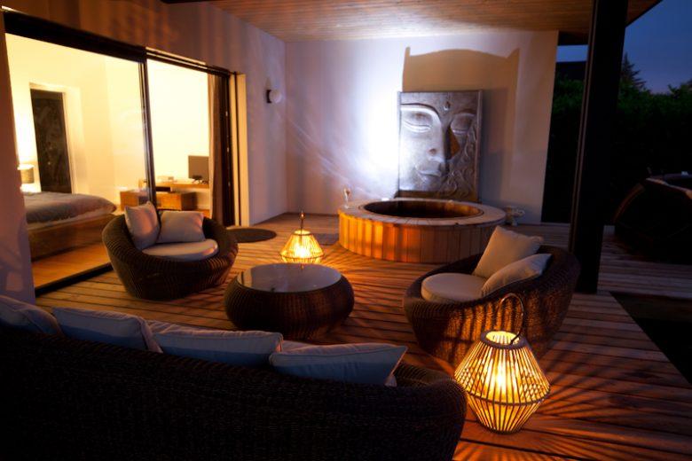 Villa Margaux – Terrasse -Fargues St Hilaire Hesse Nachon