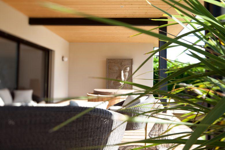 Villa Margaux – Terrasse 2 -Fargues St Hilaire Hesse Nachon