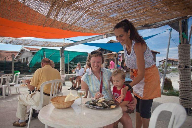 Visite et dégustation d'huîtres