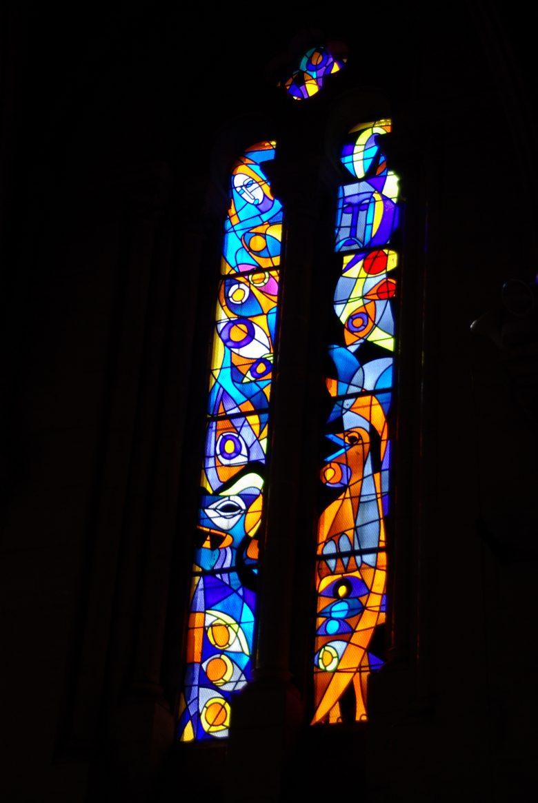 Vitraux de Raymond Mirande – Eglise St Vincent de Paul