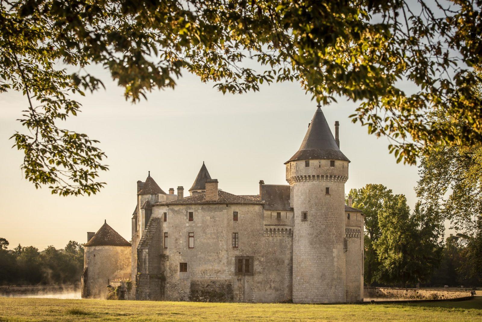Vue ext 2®ANAKA-Château de La Brède