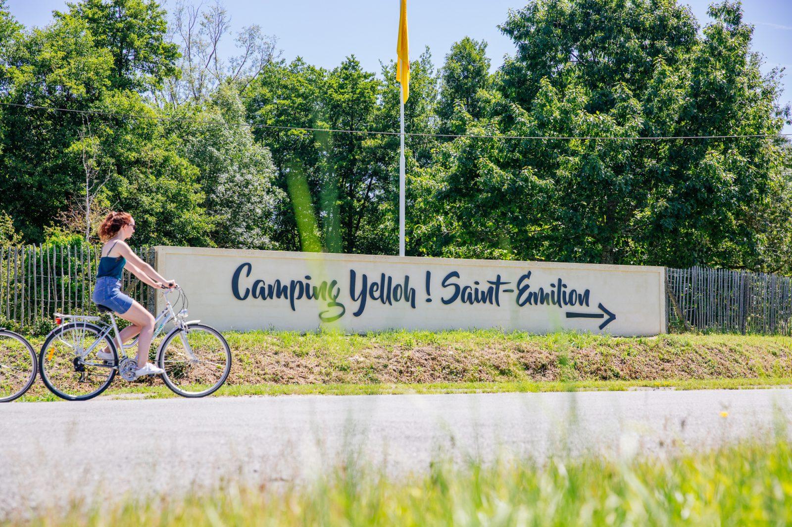 Yelloh Saint Emilion – Vélo