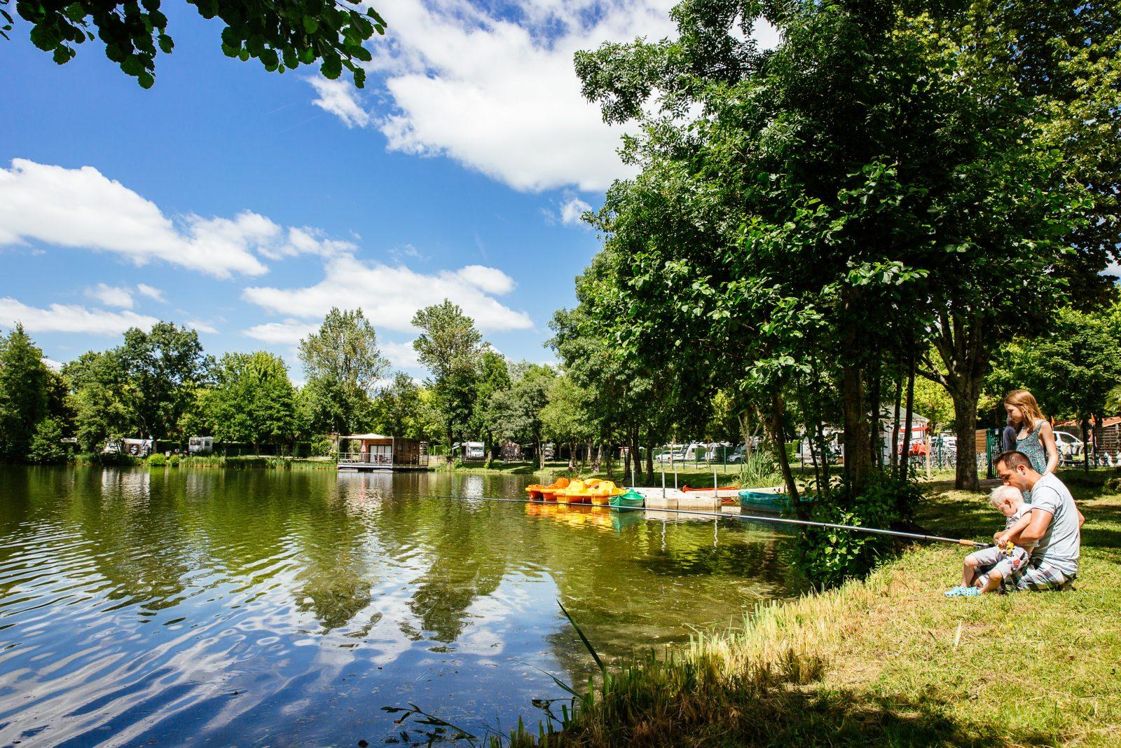 Yelloh saint EMilion – Lac de peche