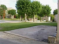 Monségur – Aire camping-cars