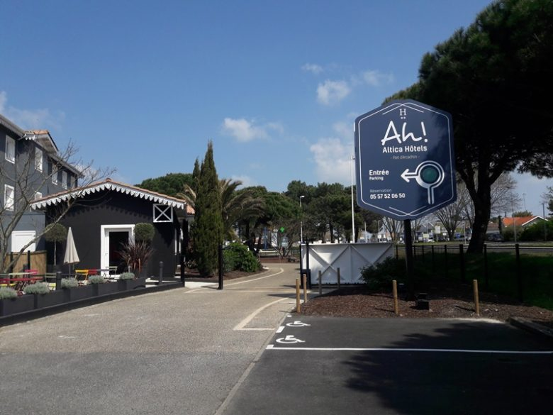 altica port arcachon – parking3