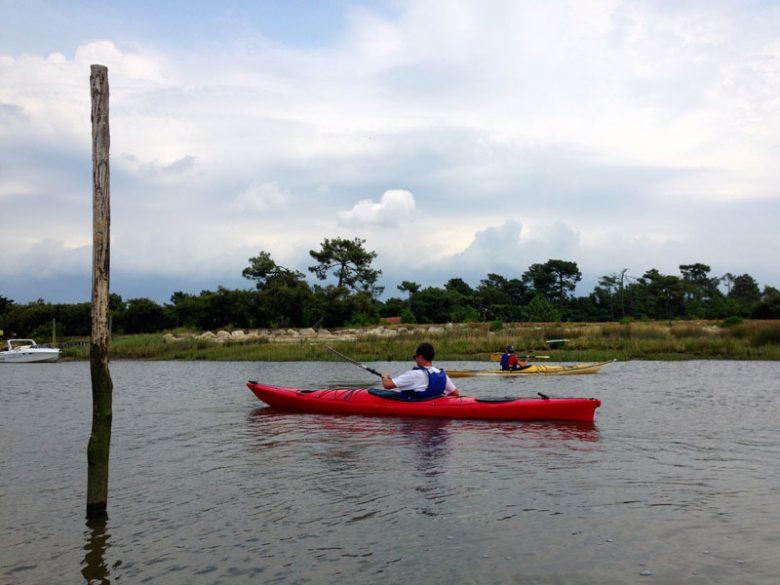 Sortie en kayak de mer