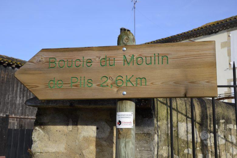 balisage Boucle Moulin de Piis