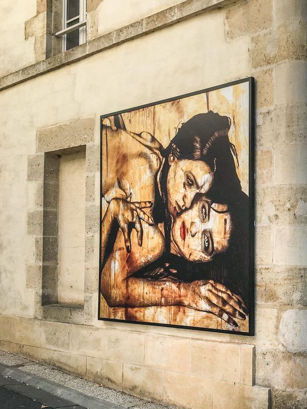 blaye-ville-galerie-tableau Mutantes-de-Virginie-Caillet