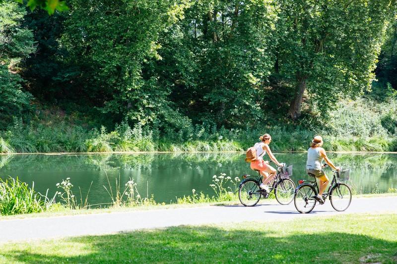 Bord de Canal à vélos
