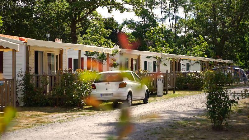 Camping le Samba à Mios sur le Bassin d'Arcachon