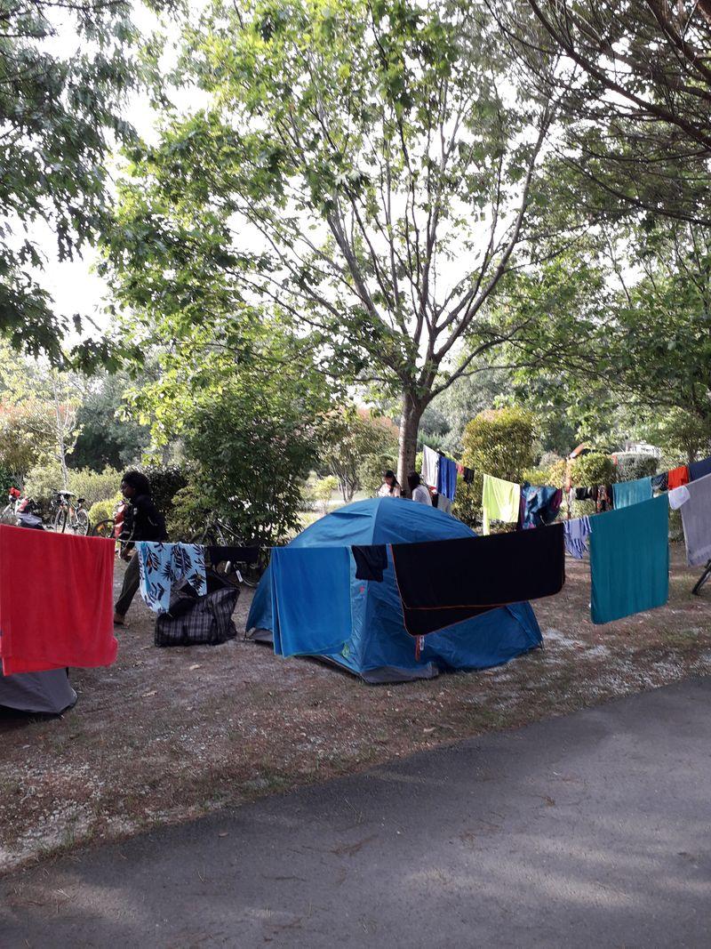 Camping Municipal le Braou à Audenge sur le Bassin d'Arcachon