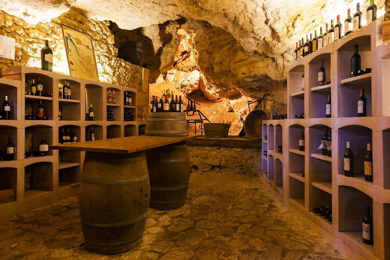 Destination Garonne, Hôtel du Château de la Tour, Cadillac, Beguey, la cave
