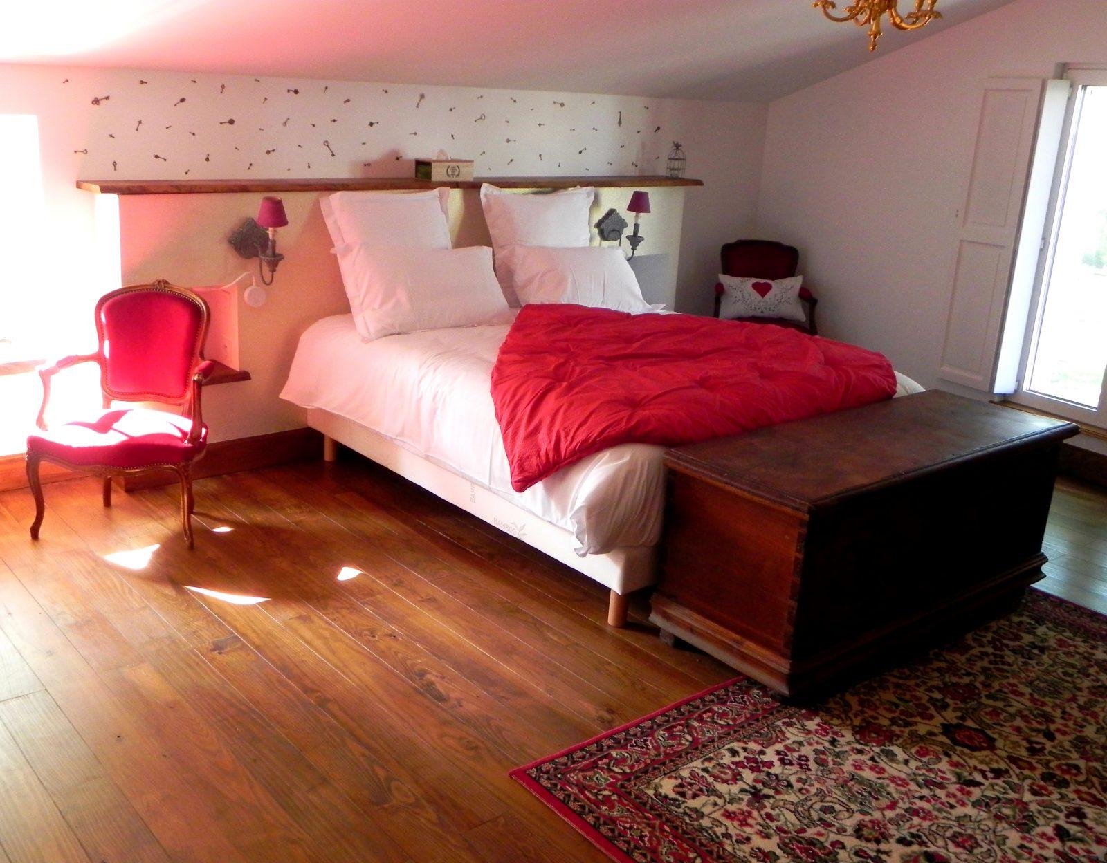 chambre Romantique- Domaine de Garat