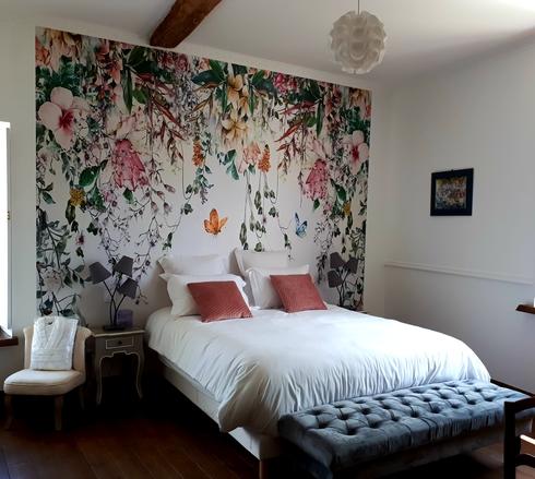 chambre c+¦t+® jardin-Domaine de Garat