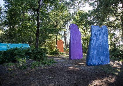 La Forêt d'Art Contemporain : couleurs, oeuvre n°18