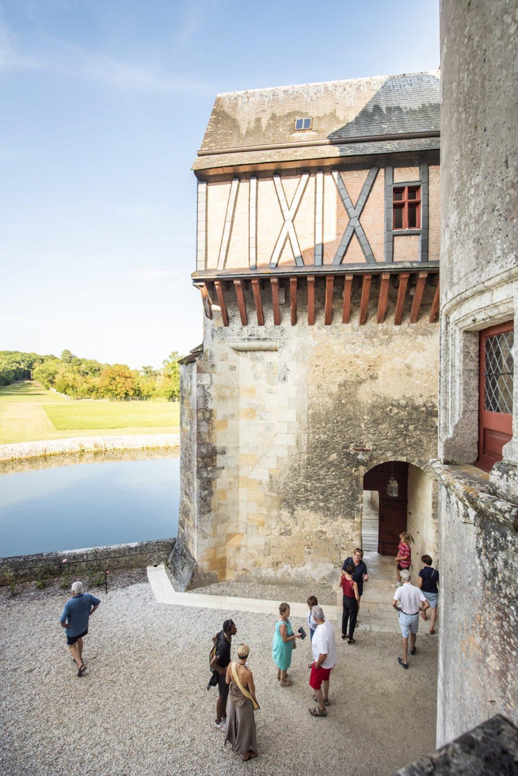 cour intérieure®ANAKA-château de La Brède