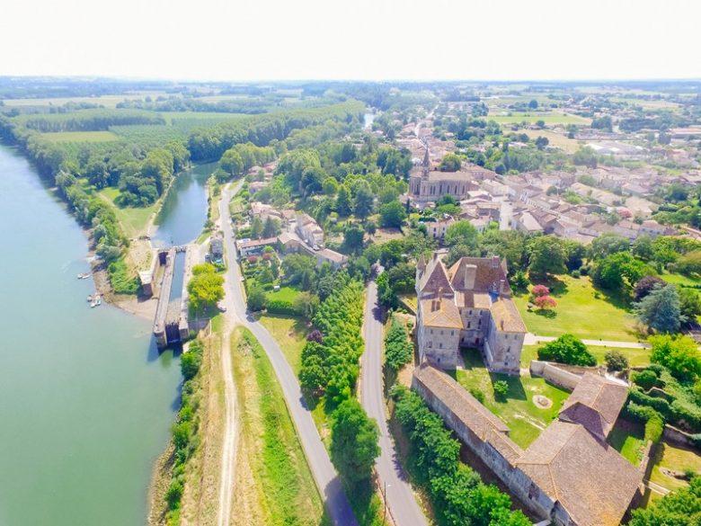 drone castets et castillon canal