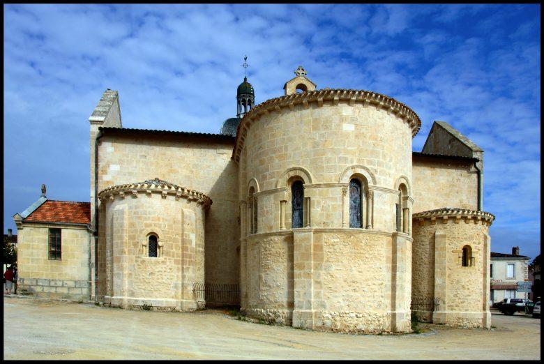 Destination Garonne, église Saint-Martin, Landiras