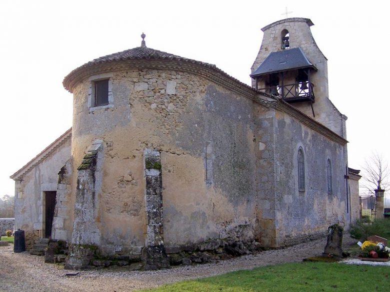 église brouqueyran