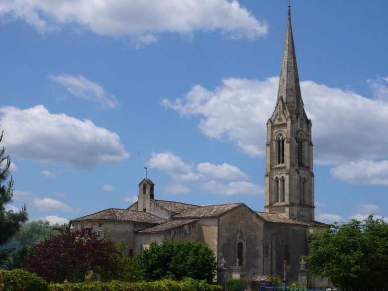 église st pierre saucats