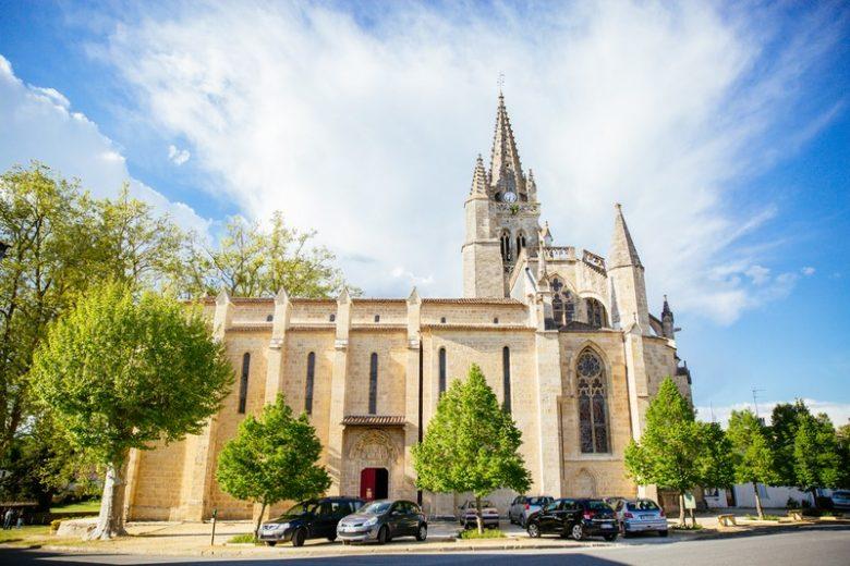 Collégiale d'UZESTE Sud-Gironde
