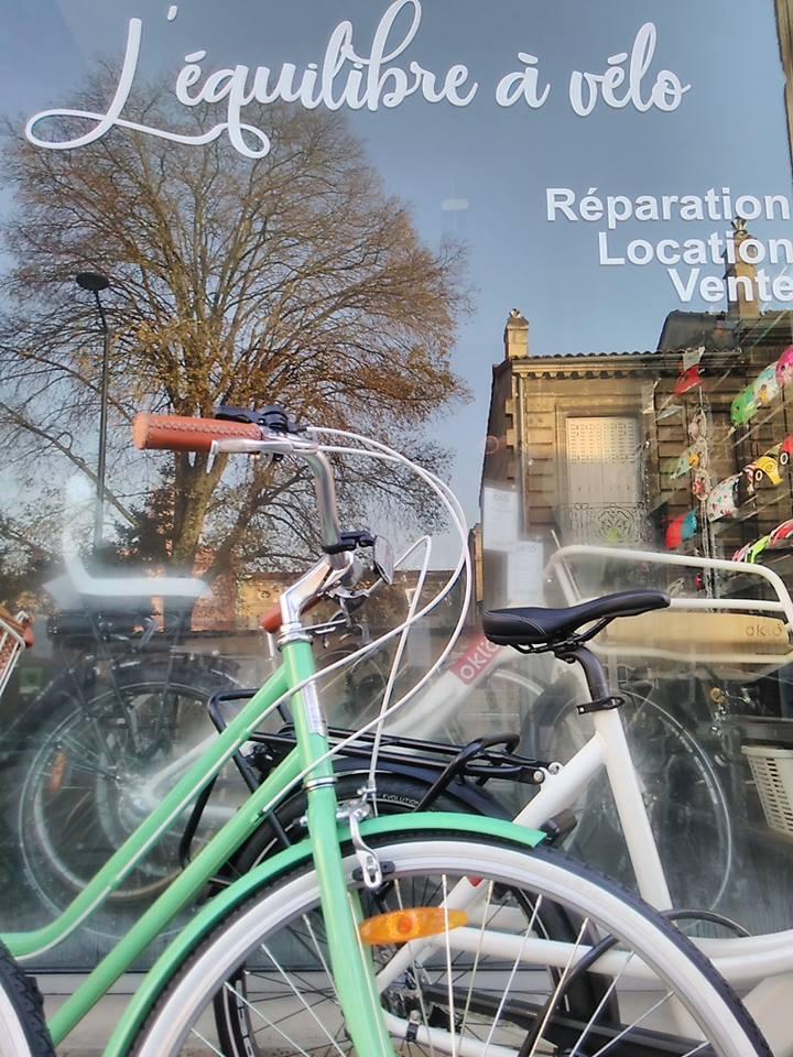 equilibre à vélo