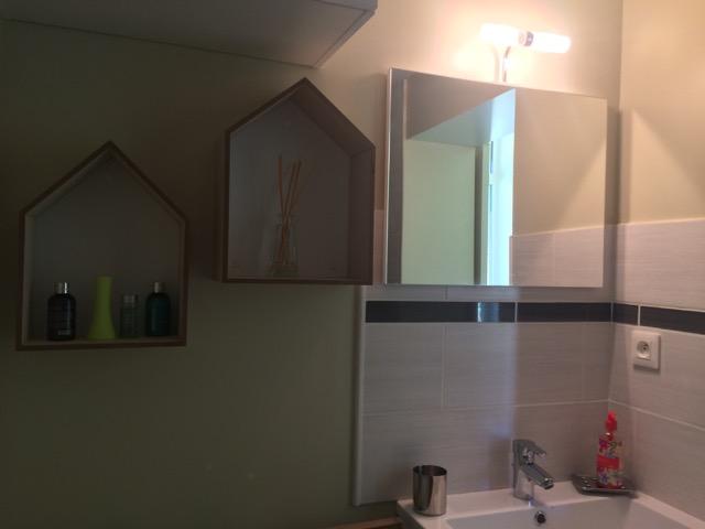 espace douche vasque