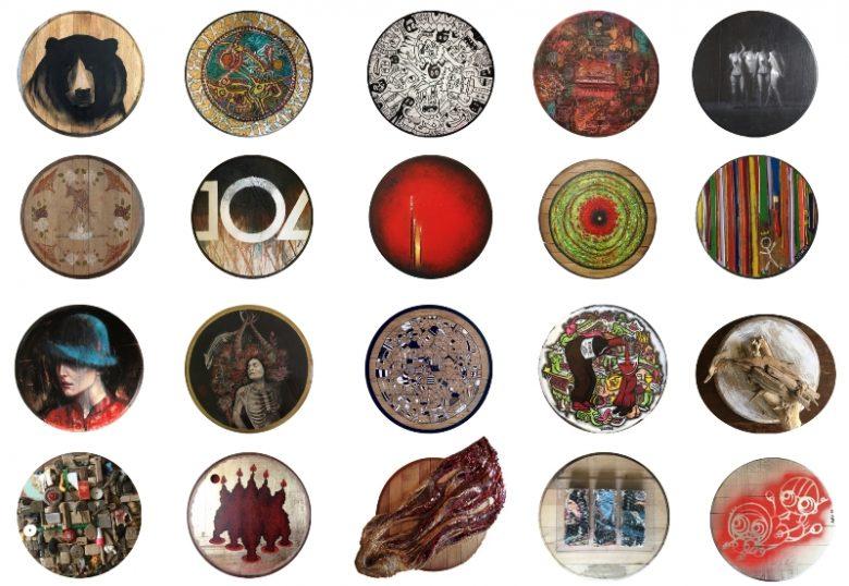 exposition-de-tondos-peints-au-chateau-les-chaumes-fours-blaye-cotes-de-bordeaux-800×600
