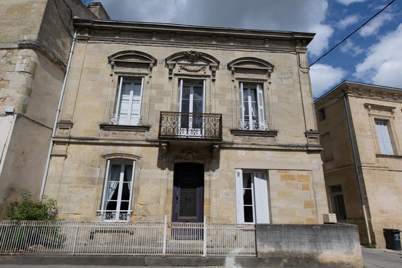 façade gite langoiran