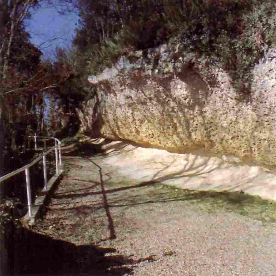 Destination Garonne, les Grottes d'Huîtres Fossiles, Sainte-Croix-Du-Mont