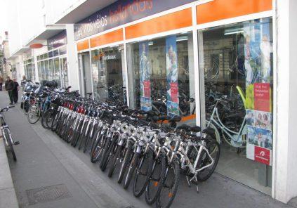 Location de vélos «Bordeaux Scooters»