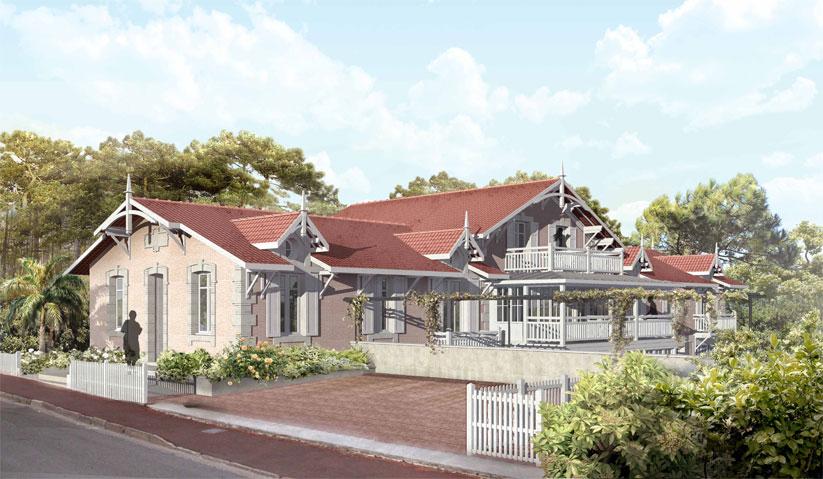 Villa du Moulleau