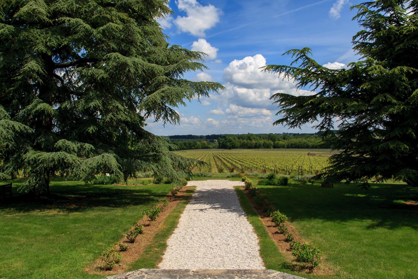 jardins château Fombrauge