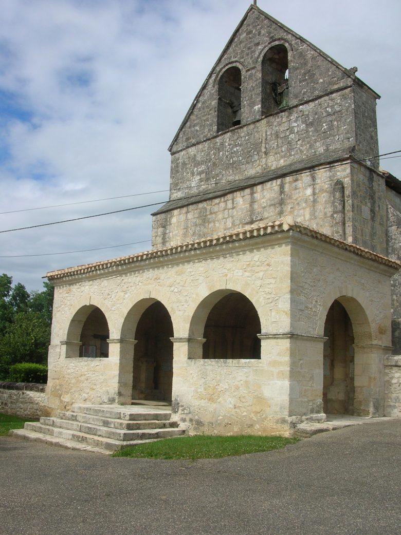 jugazan église