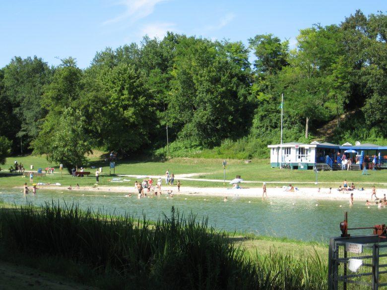 lac – plage – guinguette