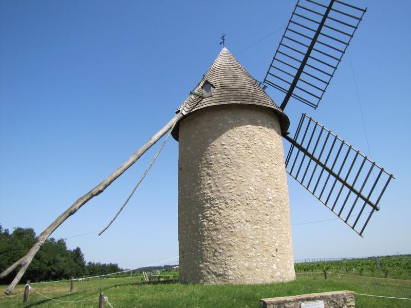 VERDELAIS Sud-Gironde Moulin de Cussol