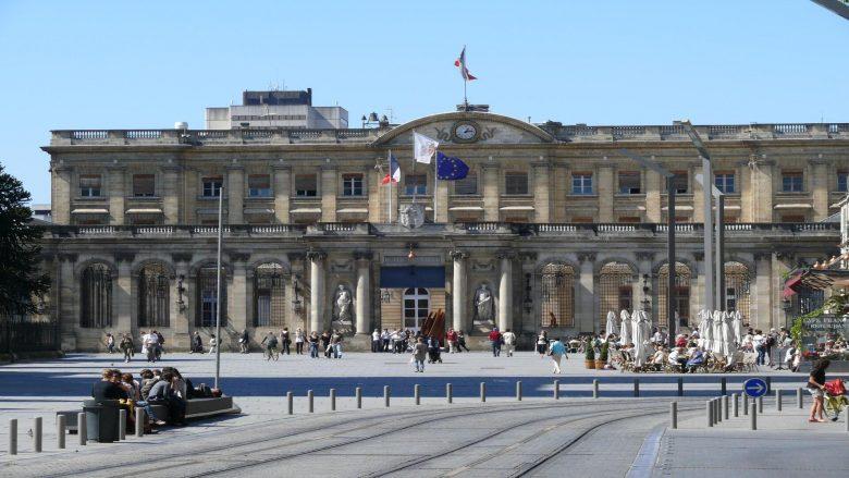 Palais Rohan, entrée côté cour