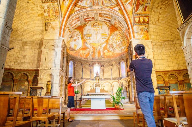 Eglise Saint-Sauveur – SAINT-MACAIRE – Sud-Gironde