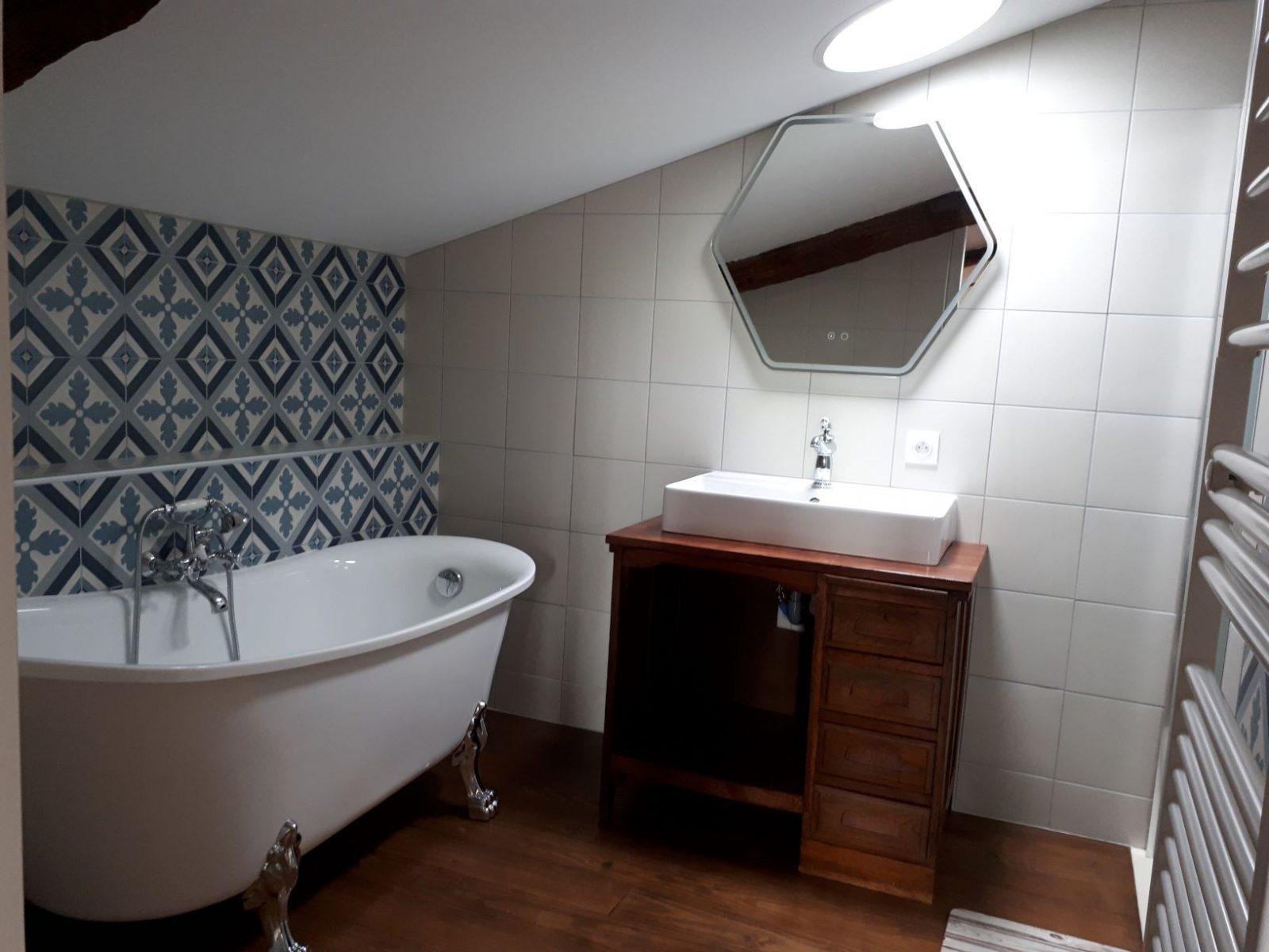 salle de bain 1- Domaine de Garat