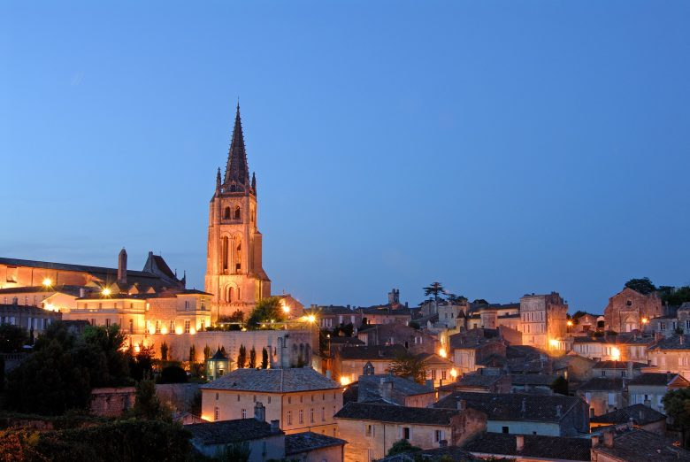 st emilion by night – Cédit Anne Lanta
