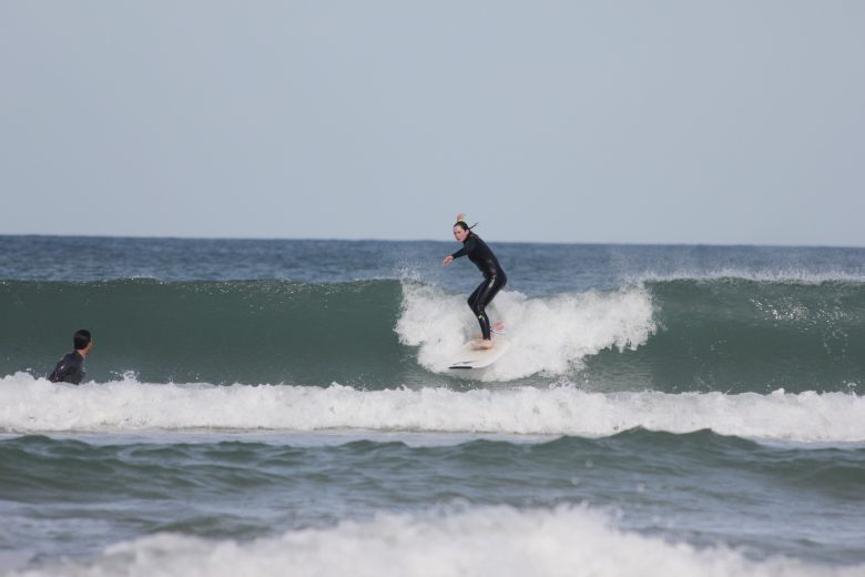 take off cours de surf lacaanu – Adrien Valero