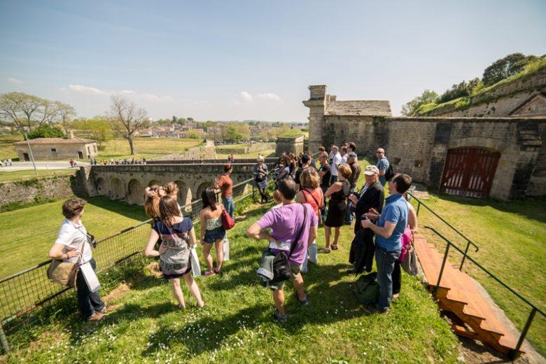 Visite guidée de la Citadelle de Blaye UNESCO par les souterrains douves 800×600