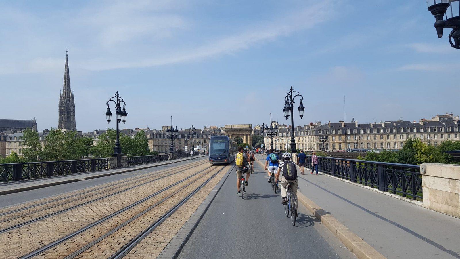 Visite Bordeaux vélo